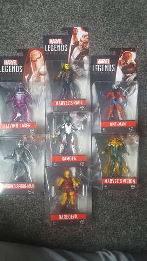 Marvel legends poseable action figures £1.99 @ home bargains/quality save instore. More new heroes in stock!
