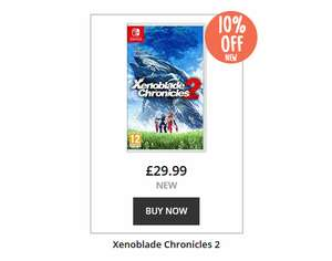 Xenoblade Chronicles 2 new £26.99 (£29.99 - 10% at checkout) at Music Magpie