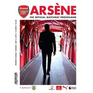 Arsene Match Day Programme final home game £​3.50 + £4.95 Delivery (£8.45) @ Arsenal direct