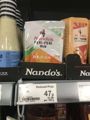 Nandos Peri Peri Medium rub, Great price! Only 47p @ Asda instore