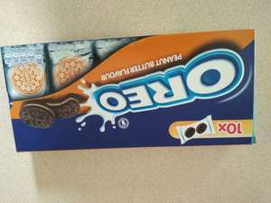 Oreo peanut butter 10x2 biscuit packs, £0.49 @ Home Bargains