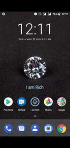 I am rich app, down from £299 to free @ playstore.