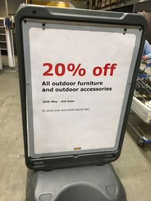 IKEA Manchester: 20% off all garden furniture and accessories