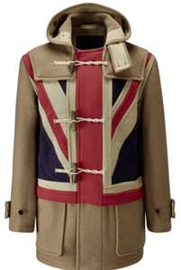 Gloverall pretty green duffel coat £200