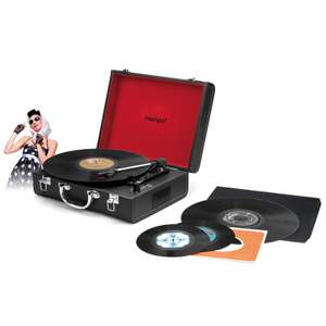 Intempo Retro Bluetooth Turntable only £15 in store b&m what a bargain
