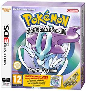 Various Nintendo 3DS Games New With 10% OFF eg - Pokemon Crystal / Silver  £4.49 @ Music Magpie