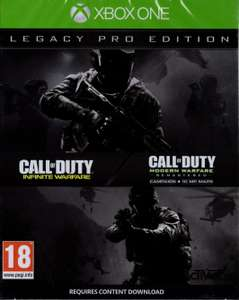 Call of Duty: Infinite Warfare Legacy PRO edition £14.99 Prime / £17.98 Non Prime @ Amazon - Sold by GAME_Outlet and Fulfilled by Amazon