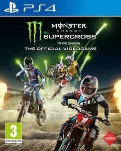 (PS4 - NEW) Monster Energy Supercross The Official Videogame £21.59 delivered @ eBay (Music Magpie)