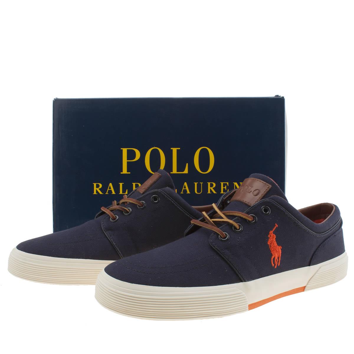 Polo Ralph Lauren Navy Faxon Shoes size 10 £29.99 @ Schuh
