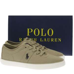 Polo Ralph Lauren Stone Halford Trainers £29.99 @ Schuh