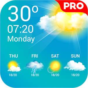 [Google Playstore] Weather Live Pro for free