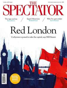 subscribe to the Spectator for 12 weeks for £12 & Get a free John Lewis/Waitrose £20 gift card