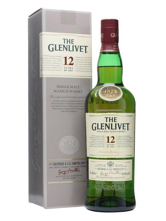 The Glenlivet 12 Year Old Single Malt, 70cl @ Tesco for £28