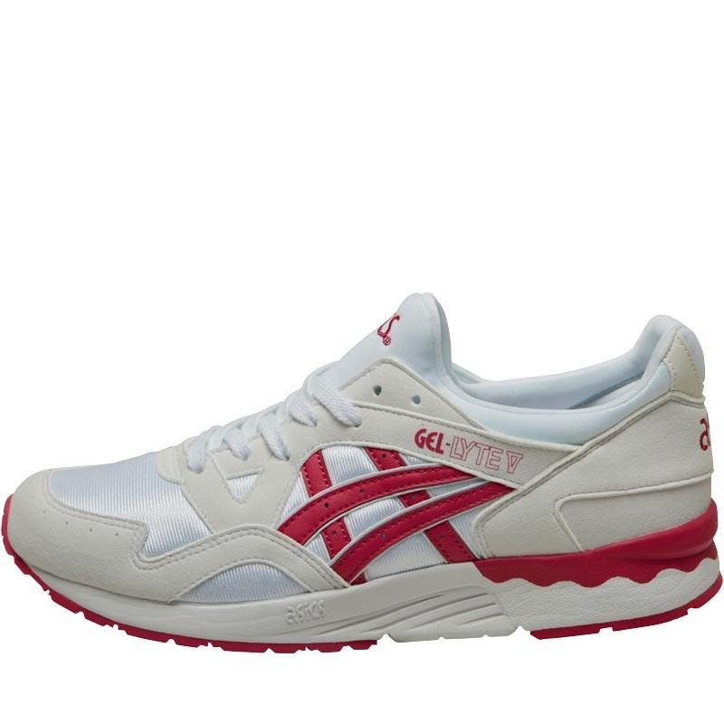 Asics Tiger Junior Girls Gel Lyte V GS Trainers White/Sport Pink £21.48 Delivered @ MandMDirect