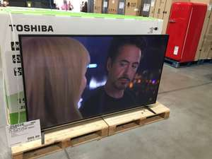 "23/6 Price ends Sunday 24th June Midnight! Now £1079.98 @ costco.co.uk with Free Delivery at In store price! Mammoth 75"" Toshiba 75U6763DB 4K Ultra HD Smart TV HDR10 Wide Colour Gamut 10bit (8+frc) Panel Bluetooth Netflix 4K 5 year warranty &"