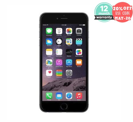 Refurbished / Good  - Unlocked Apple iPhone 6 16GB Space Grey - £107.99 w/code @ Music Magpie (64GB £127.99)
