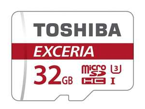 Toshiba Exceria 32GB Micro SD Memory Card 90 MB/s 4K - £8.90 Prime / £12.85 non-Prime - Sold by ONLY BRANDED / Fulfilled by Amazon