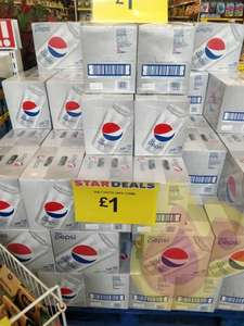 24 pack of Diet Pepsi for £1!!! Instore only - Romford Poundstretcher