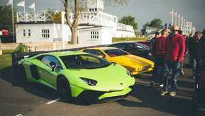 Goodwood supercar sunday, free event but you have to register