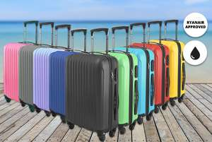 Hardshell Cabin Luggage - 9 Colours! £24.99 Delivered @ Wowcher