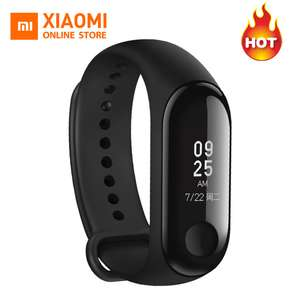 Pre-sale New Original Xiaomi mi band 3 Red - Black or blue @ Aliexpress (seller: Xiaomi Online Store)