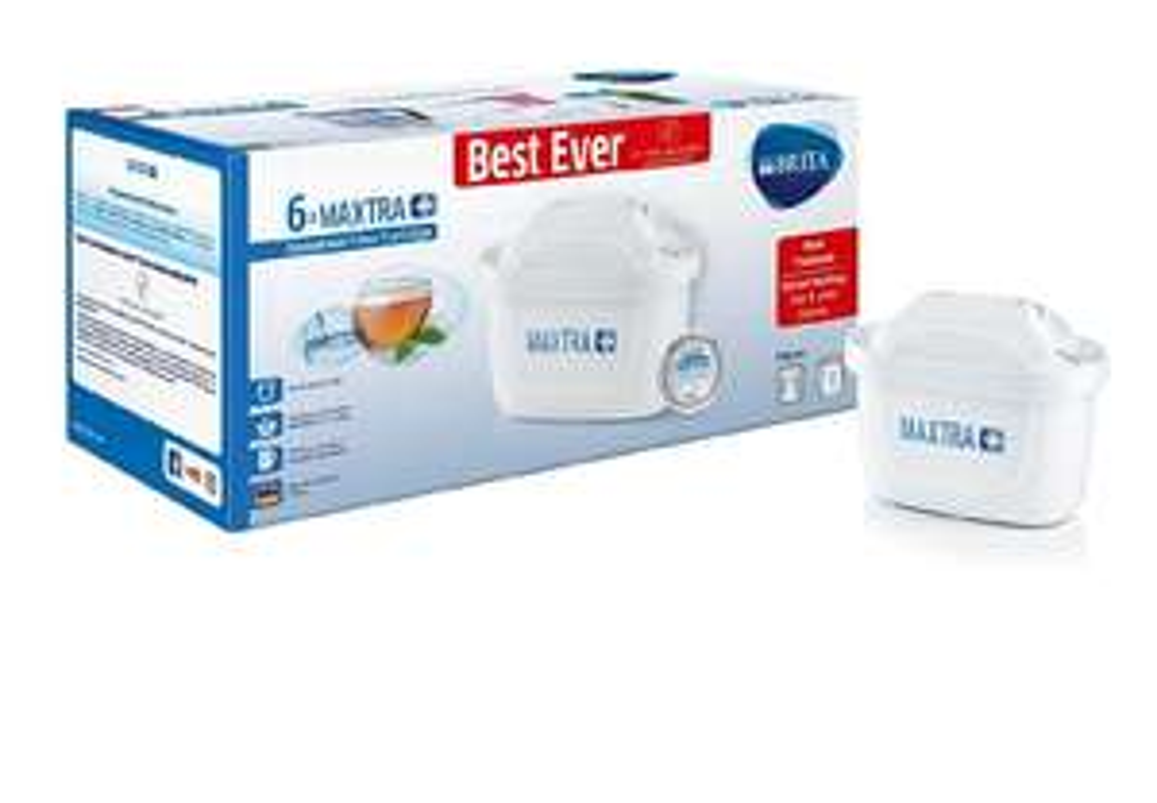 BRITA Maxtra+ Water Filter Cartridges, White, Pack of 6 (UK Version) £17.99 Prime £22.48 Non Prime @ Amazon
