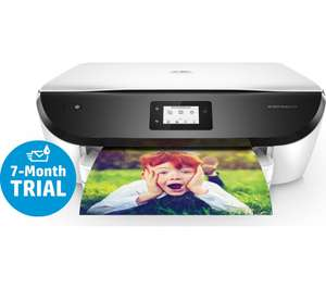 HP Envy Photo 6234 All-in-One Wireless Inkjet Printer, 7 Months Free Ink Trial £69.99 Plus £30 Cashback with instant ink sign up at Curry's.