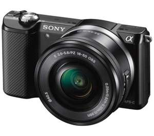 SONY a5000 Mirrorless Camera with 16-50 mm f/3.5-5.6 Lens, £191.97 C+C / Instore @ Currys - Limited Stock