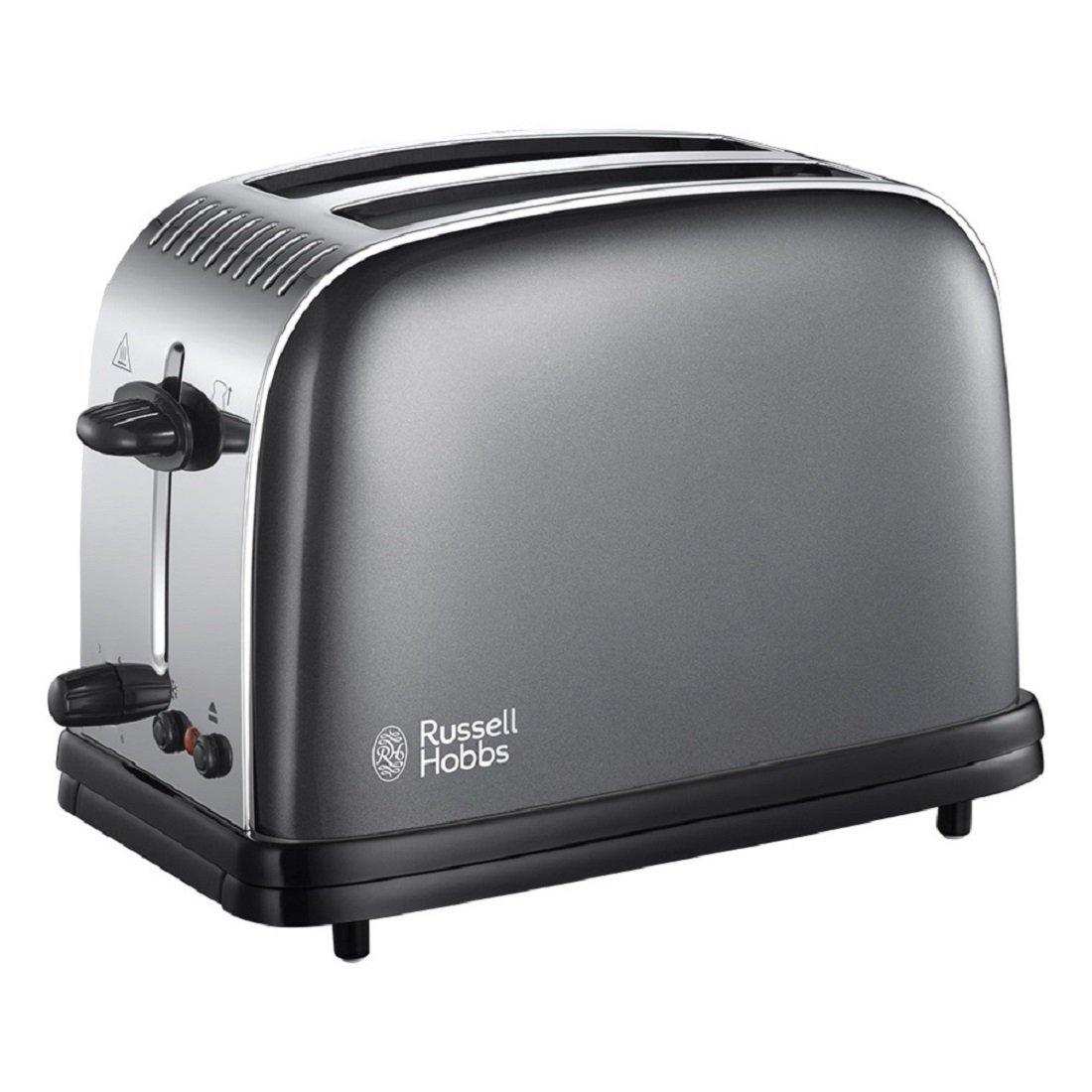 Russell Hobbs Colour Plus 2-Slice Toaster 23332 - Grey £17.99 Prime / £22.38 Non Prime @ Amazon