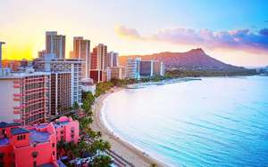 Return flights to Honolulu, Hawaii from Manchester 28th August to 12th September £519pp