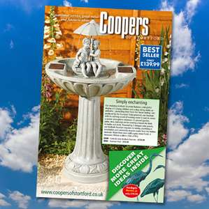 Received £10 off  purchases over £40 voucher with catalogue @ Coopers of stortford