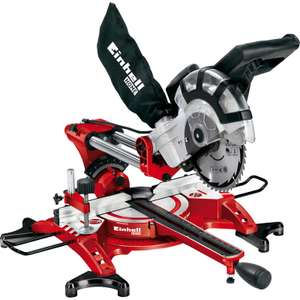 Einhell TC SM2131 210mm Double Bevel Sliding Crosscut Mitre Saw 230V £99.98 @ Toolstation