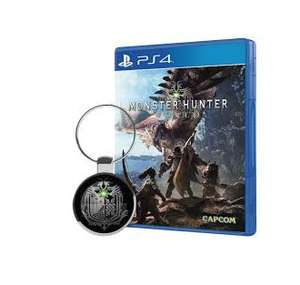 Monster Hunter: World + Free Key chain (PS4 / Xbox One) £28  / Far Cry 5 £28 (Only until 12pm) @ Monster Shop