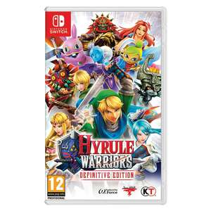 Hyrule Warriors: Definative Edition [Switch] £31.99 // Monster Hunter World [PS4/XBox]  £27.99 // Far Cry 5 [XBox] £27.99 with code // Street Fighter 30th Anniversary [Switch] £30.39 @ Moster-shop