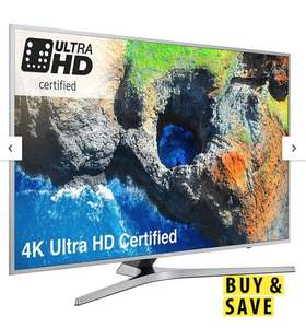Samsung UE55MU6400UXXU 55 Inch, 4K Ultra HD Certified Pro HDR, Freesat HD, LED TV - £439.20 (when bought as BNPL) @Very