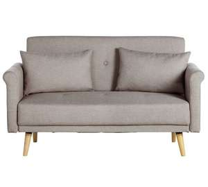 Hygena Evie 2 Seater Fabric Sofa in a Box (2 Colours aval) £134.99 C&C / £138.94 delivered @ Argos