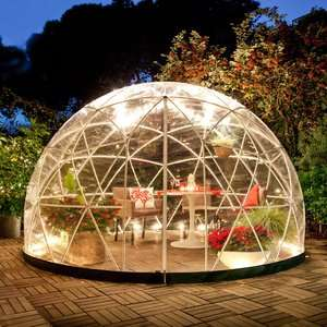 Fancy your own Crystal Dome? THE GARDEN IGLOO 360 DOME with PVC Weatherproof Cover was £849 now £699 Del @ Cuckooland