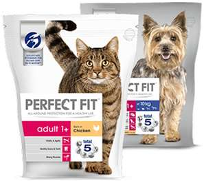 PERFECT FIT DOG or CAT FOOD _ FIRST PACK FREE OFFER via 100% cashback