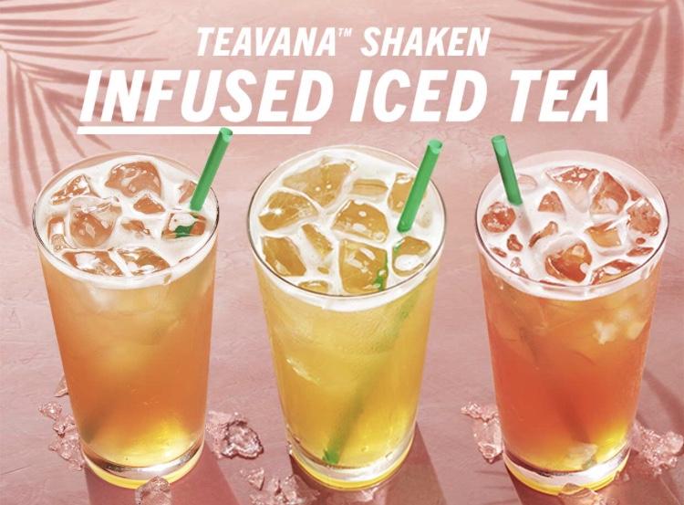 Starbucks BOGOF on Teavana Infused Iced Tea 8th-10th Durham City Centre - poss national