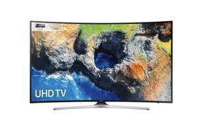 """Samsung UE55MU6220 55"""" Curved Smart 4K Ultra HD Certified TV with HDR at ao.com for £529"""