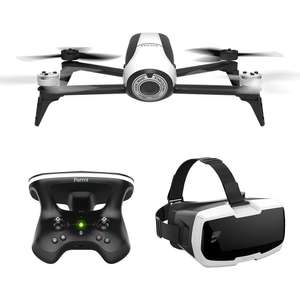 Parrot Bebop 2 Quadcopter Drone with Skycontroller 2 & Cockpit FPV Glasses, £369.99 @ AMAZON
