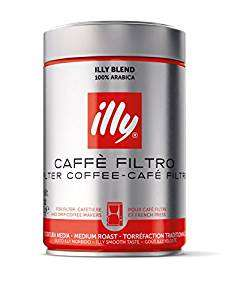 Illy medium roast ground filter coffee - £4.02 @ Amazon (Add On Item)