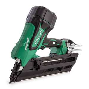 Hitachi NR1890DBCL/JP Cordless First Fix Brushless Framing Nailer, 18 V, Multi-Colour - Amazon - £339.99