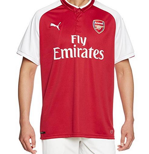 Replica Arsenal 2017/2018 shirt Large Size @ Amazon - £16.64 Prime / £20.59 non-Prime