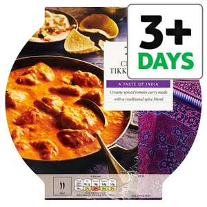 £8 Indian Meal Deal - Buy 2 460g Mains + 2 Sides + 750ml Bottle of Cobra Beer For £8 @ Tesco Groceries