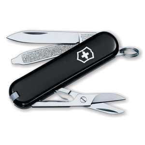 Victorinox Classic SD Swiss Army Knife in Black - £8.55 (+ £1.95 P&P) @ All Outdoor