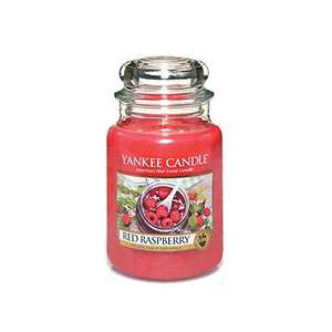 Large red raspberry candle - £11.69 (Prime) £16.18 (Non Prime) @ Amazon