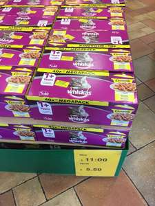 Whiskas casserole multipack bargain at Morrisons Wimbledon - £5.50