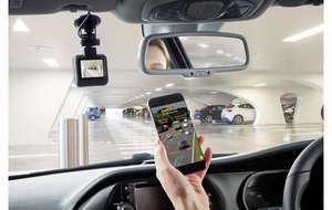 Halfords dash cam with built in WiFi, now £39 save 20% @ Halfords free click and collect.