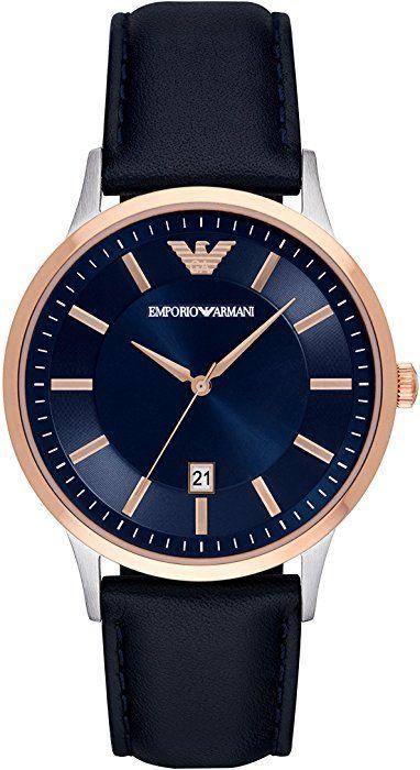 Emporio Armani AR2506 Blue/Gold Watch £101.04 @ Amazon